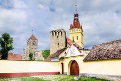 Παλαιά εκκλησία στο Cristian, Brasov, Ρουμανία στοκ φωτογραφία