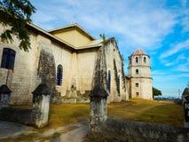Παλαιά εκκλησία, oslob, Κεμπού, Στοκ Εικόνες