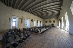 Παλαιά εκλεκτής ποιότητας εκκλησία στο κάστρο Kalmar Στοκ Εικόνες