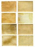 Παλαιά εκλεκτής ποιότητας εμβλήματα εγγράφου καθορισμένα Στοκ Εικόνες