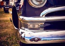 Παλαιά εκλεκτής ποιότητας και παλαιά αυτοκίνητα Στοκ Φωτογραφίες