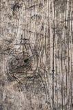 Παλαιά δεμένη ξεπερασμένη σάπια ραγισμένη σανίδα - λεπτομέρεια Στοκ φωτογραφία με δικαίωμα ελεύθερης χρήσης