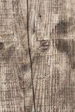 Παλαιά δεμένη ραγισμένη τραχιά κατασκευασμένη σανίδα - λεπτομέρεια Στοκ Εικόνες