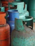 Παλαιά δεξαμενή LPG αερίου Στοκ Εικόνες