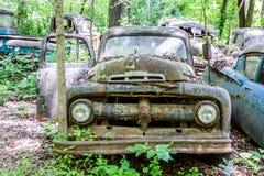 Παλαιά επανάλειψη της Ford με την πόρτα ανοικτή Στοκ Εικόνες