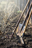 Παλαιά εργαλεία κήπων Στοκ φωτογραφίες με δικαίωμα ελεύθερης χρήσης