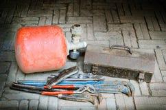 Παλαιά εργαλεία Στοκ εικόνες με δικαίωμα ελεύθερης χρήσης