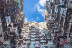 Παλαιά ζωηρόχρωμα διαμερίσματα στο Χονγκ Κονγκ, Κίνα Στοκ εικόνες με δικαίωμα ελεύθερης χρήσης