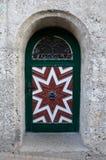 Παλαιά ζωηρόχρωμη πόρτα Στοκ φωτογραφία με δικαίωμα ελεύθερης χρήσης