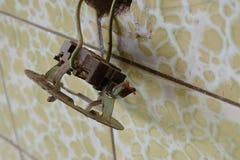 παλαιά ηλεκτρική εγκατάσταση ï ¿ ¼ ï ¿ ¼ στοκ φωτογραφία