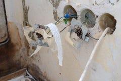 παλαιά ηλεκτρική εγκατάσταση ï ¿ ¼ ï ¿ ¼ στοκ φωτογραφίες με δικαίωμα ελεύθερης χρήσης