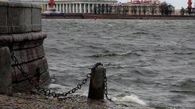 Παλαιά θαλάσσια πόλη απόθεμα βίντεο