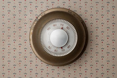 Παλαιά θερμοστάτης Στοκ εικόνα με δικαίωμα ελεύθερης χρήσης