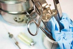 Παλαιά ιατρικά όργανα Στοκ εικόνα με δικαίωμα ελεύθερης χρήσης