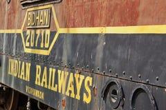 Παλαιά ινδική ατμομηχανή Στοκ Εικόνες