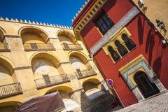 παλαιά Ισπανία πόλη της Κόρδοβα Στοκ Φωτογραφίες