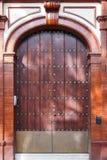 Παλαιά ισπανική πύλη Στοκ φωτογραφία με δικαίωμα ελεύθερης χρήσης