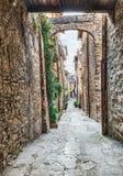 Παλαιά ιταλική αλέα Στοκ Εικόνες