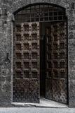 Παλαιά ιταλική πόρτα στοκ εικόνες