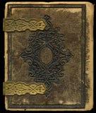Παλαιά κάλυψη βιβλίων Στοκ εικόνα με δικαίωμα ελεύθερης χρήσης