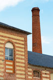 Παλαιά καπνοδόχος εργοστασίων Στοκ Φωτογραφίες