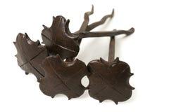Παλαιά καρφιά σιδήρου Στοκ φωτογραφία με δικαίωμα ελεύθερης χρήσης