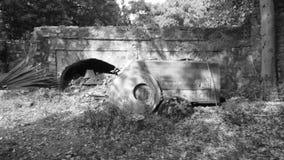 παλαιά καταστροφή Στοκ φωτογραφίες με δικαίωμα ελεύθερης χρήσης