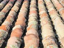παλαιά κεραμίδια στεγών Στοκ φωτογραφία με δικαίωμα ελεύθερης χρήσης