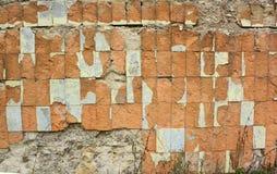 Παλαιά κεραμίδια τοίχων Ανασκόπηση Grunge στοκ εικόνα