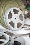 Παλαιά κινηματογραφία εξελίκτρων ταινιών στοκ φωτογραφία με δικαίωμα ελεύθερης χρήσης