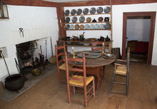 Παλαιά κουζίνα στοκ εικόνες