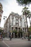 Παλαιά κτήρια Βαρκελώνη Στοκ εικόνα με δικαίωμα ελεύθερης χρήσης