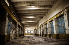 Παλαιά κτήρια εργοστασίων Στοκ Εικόνες