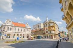 Παλαιά κτήρια σε Oradea στοκ εικόνα