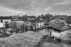 παλαιά κτήρια στην επαρχία Anhui, Κίνα Στοκ Φωτογραφίες
