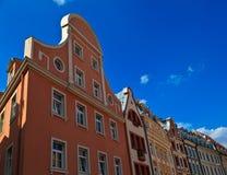 Παλαιά κτήρια στην παλαιά Ρήγα Στοκ Εικόνες