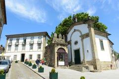 Παλαιά κτήρια στο Γκιμαράες, Πορτογαλία στοκ φωτογραφία με δικαίωμα ελεύθερης χρήσης