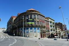 Παλαιά κτήρια στο Πόρτο, Πορτογαλία Στοκ εικόνες με δικαίωμα ελεύθερης χρήσης