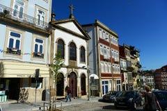 Παλαιά κτήρια στο Πόρτο, Πορτογαλία Στοκ Εικόνες