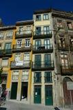 Παλαιά κτήρια στο Πόρτο, Πορτογαλία Στοκ Φωτογραφία