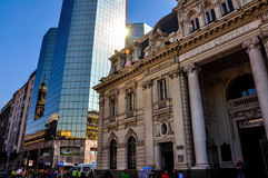Παλαιά κτήρια του Σαντιάγο, Χιλή Στοκ εικόνες με δικαίωμα ελεύθερης χρήσης