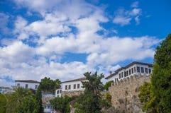 Παλαιά κωμόπολη Antalya, παλαιά πόλη Antalya Στοκ εικόνες με δικαίωμα ελεύθερης χρήσης