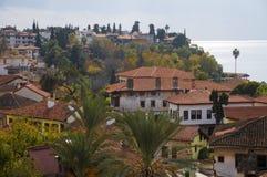 Παλαιά κωμόπολη Antalya, παλαιά πόλη Antalya Στοκ Φωτογραφία
