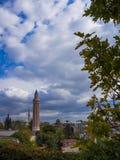 Παλαιά κωμόπολη Antalya, παλαιό μουσουλμανικό τέμενος πόλεων Antalya Στοκ Εικόνες
