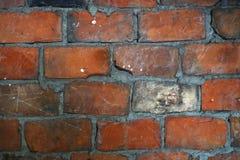 Παλαιά κόκκινη πλινθοδομή Στοκ Φωτογραφίες