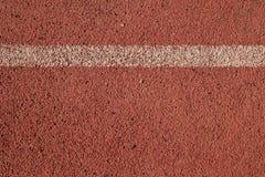 Παλαιά κόκκινη τρέχοντας καταδίωξη Στοκ Εικόνες