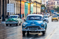 Παλαιά κλασικά αμερικανικά αυτοκίνητα Στοκ Φωτογραφίες