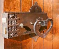 Παλαιά κλειδαριά ορείχαλκου Στοκ Εικόνες