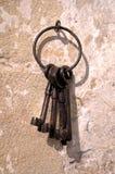 Παλαιά κλειδιά Στοκ φωτογραφίες με δικαίωμα ελεύθερης χρήσης