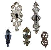 παλαιά κλειδώματα Στοκ Φωτογραφίες